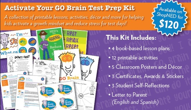 Activate Your GO Brain - Test Prep Kit